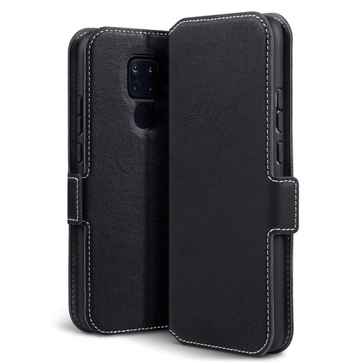 Terrapin Huawei Mate 30 Lite Low Profile PU Leather Wallet Case - Black
