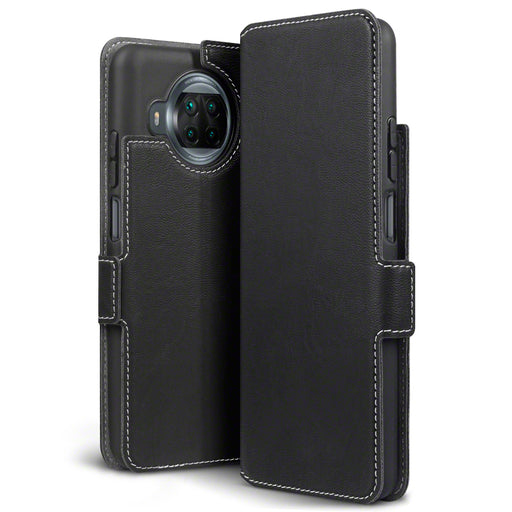 Terrapin Xiaomi Mi 10T Lite 5G Low Profile PU Leather Wallet Case - Black