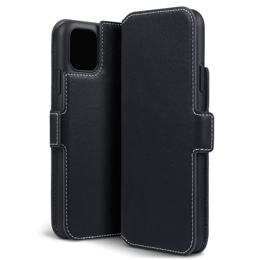 Terrapin Apple iPhone 2019 6.5 Inch Slim Profile PU Leather Wallet Case - Black