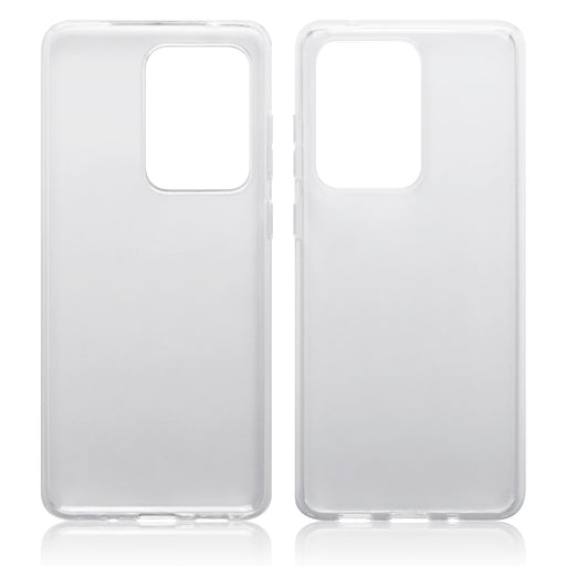 Terrapin Samsung Galaxy S20 Ultra TPU Gel Skin Case - Clear