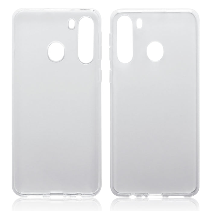 Terrapin Samsung Galaxy A21 TPU Gel Case - Clear