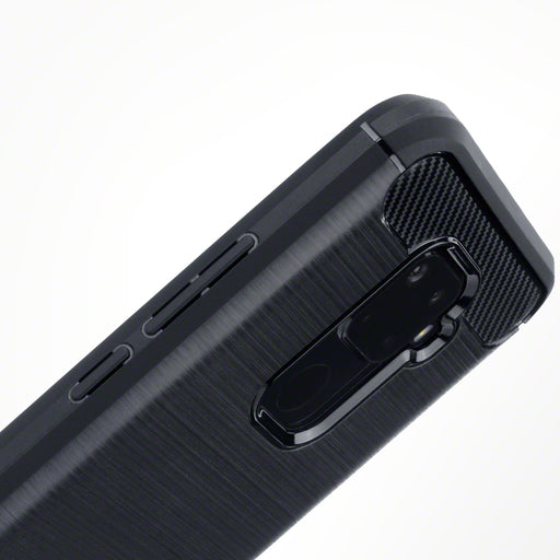 Terrapin Huawei Mate 30 Lite Carbon Fibre Design TPU Gel Case - Black