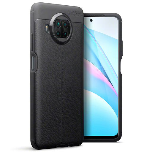 Terrapin Xiaomi Mi 10T Lite 5G Leather Texture TPU Gel Case - Black