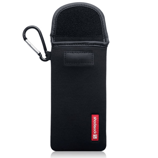 Shocksock Sony Xperia 20 Neoprene Pouch with Carabiner - Black