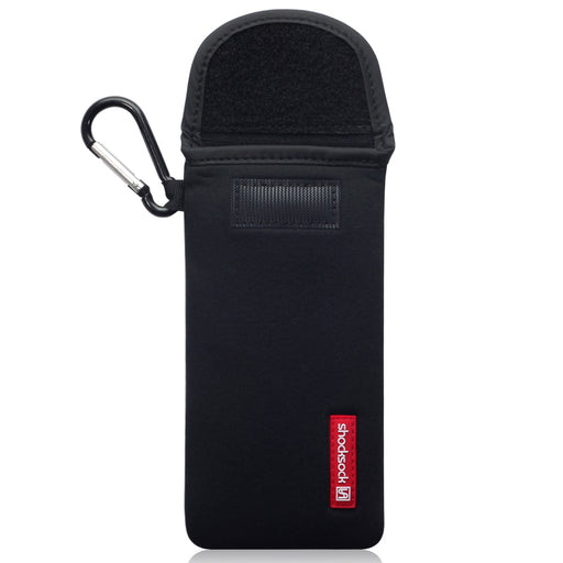 Shocksock Huawei P40 Pro Neoprene Pouch with Carabiner - Black