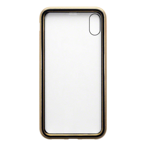 Terrapin Apple iPhone XS Max Double Sided Explosion Proof Case - Gold