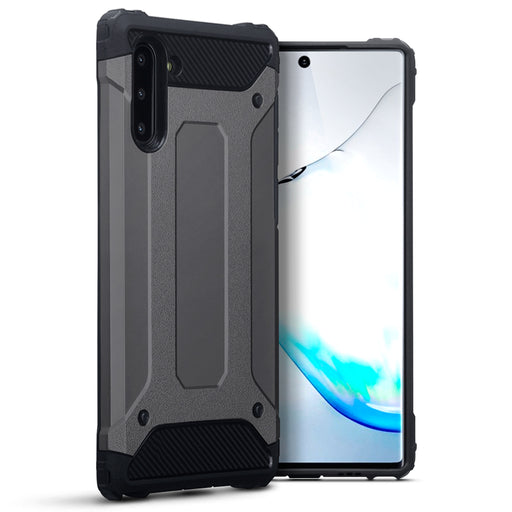 Terrapin Samsung Galaxy Note 10 Dual Layer Impact Case - Gunmetal