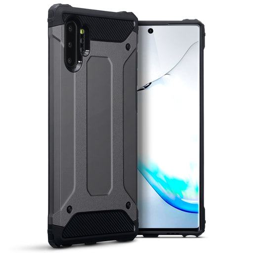 Terrapin Samsung Galaxy Note 10 Plus Dual Layer Impact Case - Gunmetal