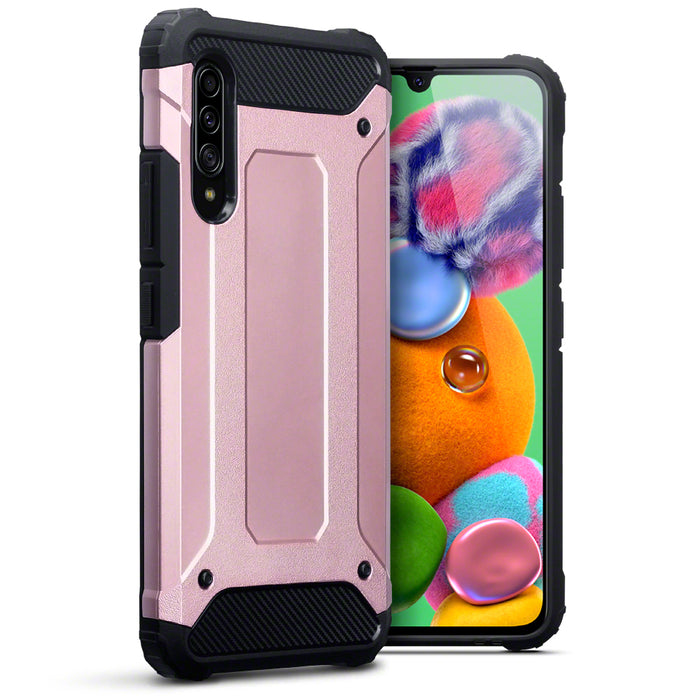 Terrapin Samsung Galaxy A90 5G Double Layer Impact Case - Rose Gold