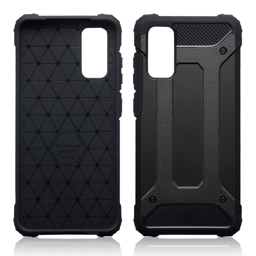 Terrapin Samsung Galaxy S20 Double Layer Impact Case - Black