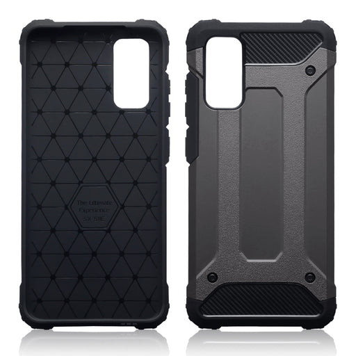 Terrapin Samsung Galaxy S20 Double Layer Impact Case - Gunmetal