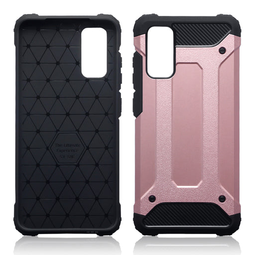 Terrapin Samsung Galaxy S20 Double Layer Impact Case - Rose Gold