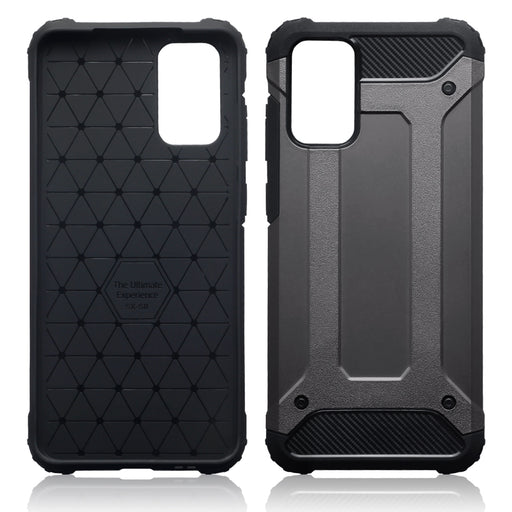 Terrapin Samsung Galaxy S20 Plus Double Layer Impact Case - Gunmetal