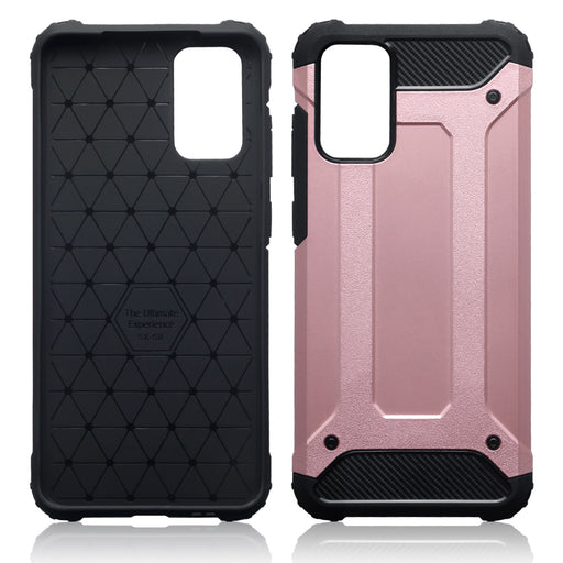 Terrapin Samsung Galaxy S20 Plus Double Layer Impact Case - Rose Gold
