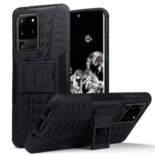 Terrapin Samsung Galaxy S20 Ultra Rugged Case - Black
