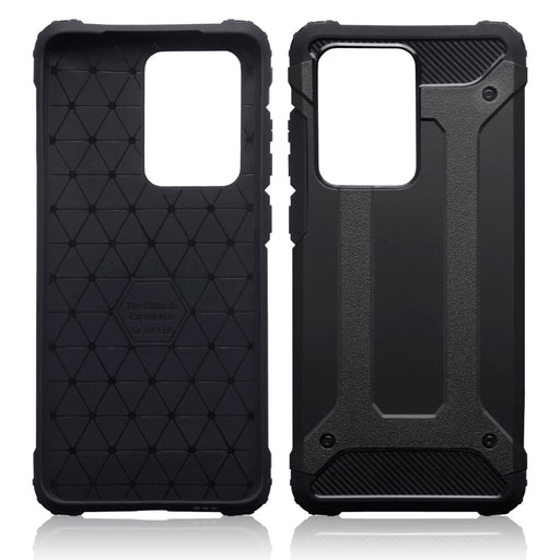 Terrapin Samsung Galaxy S20 Ultra Double Layer Impact Case - Black