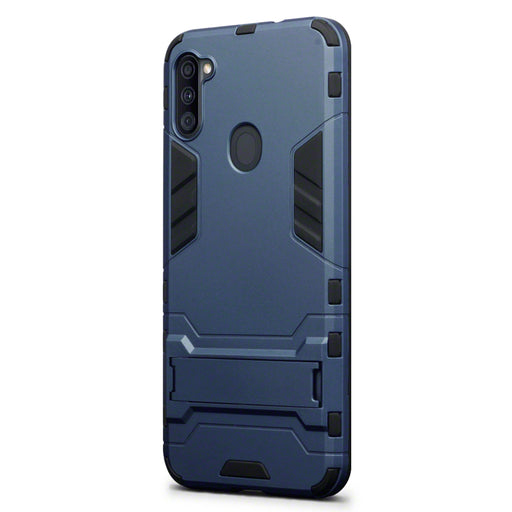 Terrapin Samsung Galaxy A11 Dual Layer Impact Case - Dark Blue