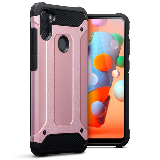 Terrapin Samsung Galaxy A11 Double Layer Impact Case - Rose Gold