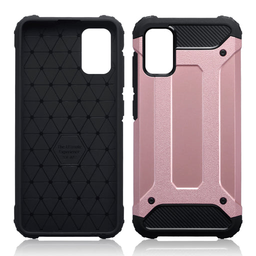 Terrapin Samsung Galaxy A41 Double Layer Impact Case - Rose Gold