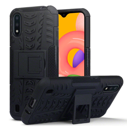 Terrapin Samsung Galaxy A01 Rugged Case - Black