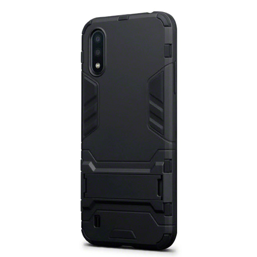 Terrapin Samsung Galaxy A01 Dual Layer Impact Case - Black