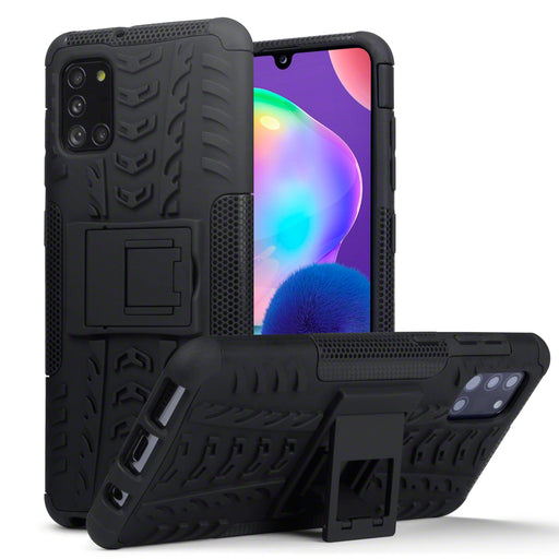 Terrapin Samsung Galaxy A31 Rugged Case - Black