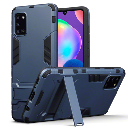 Terrapin Samsung Galaxy A31 Dual Layer Impact Case - Dark Blue