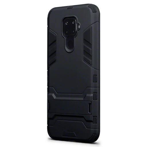 Terrapin Huawei Mate 30 Lite Dual Layer Armour Case with Stand - Black