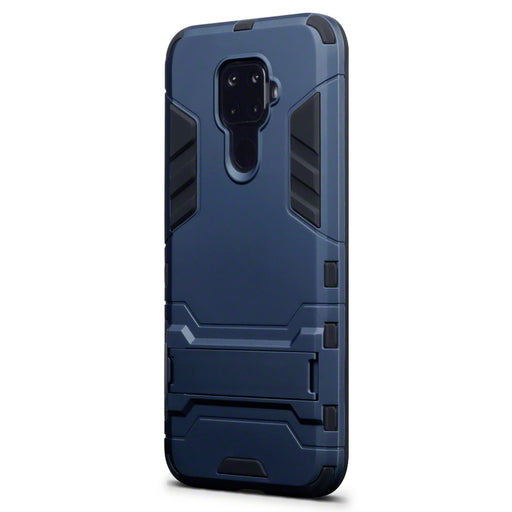 Terrapin Huawei Mate 30 Lite Dual Layer Armour Case with Stand - Blue