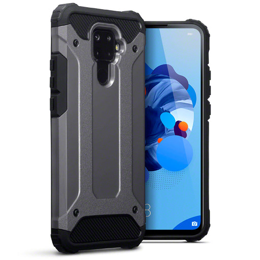 Terrapin Huawei Mate 30 Lite Double Layer Impact Case - Gunmetal