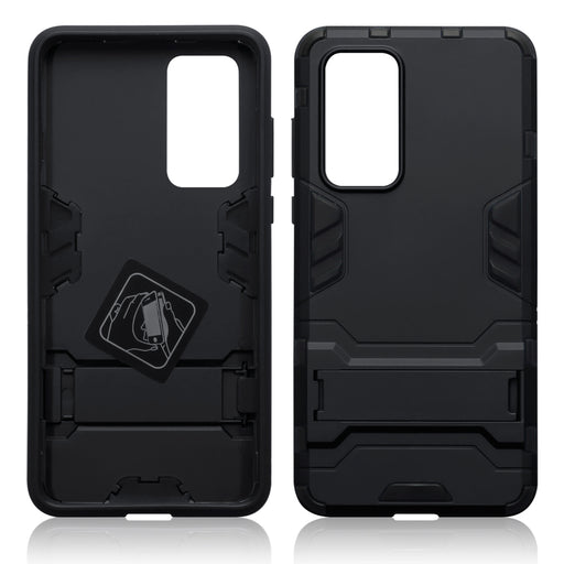 Terrapin Huawei P40 Dual Layer Armour Case with Stand - Black