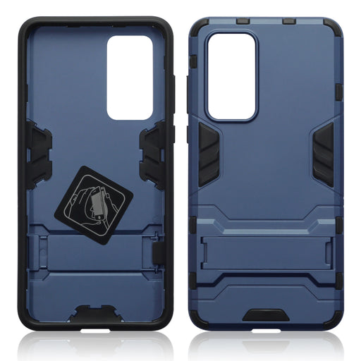 Terrapin Huawei P40 Dual Layer Armour Case with Stand - Dark Blue