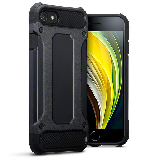 Terrapin Apple iPhone 7/8/SE 2020 Double Layer Impact Case - Black