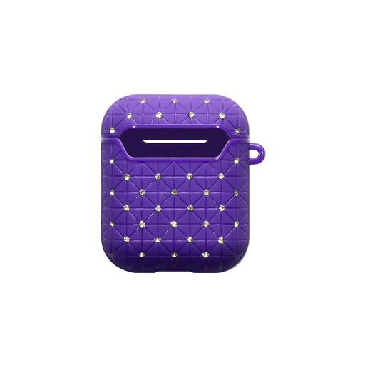 Terrapin Apple Airpods Diamonte Cover - Purple