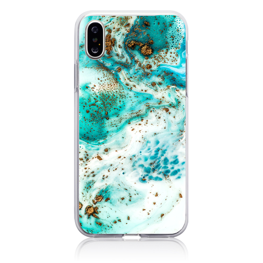 Aqua Dust Phone Case - Apple iPhone X / XS by Case Hut
