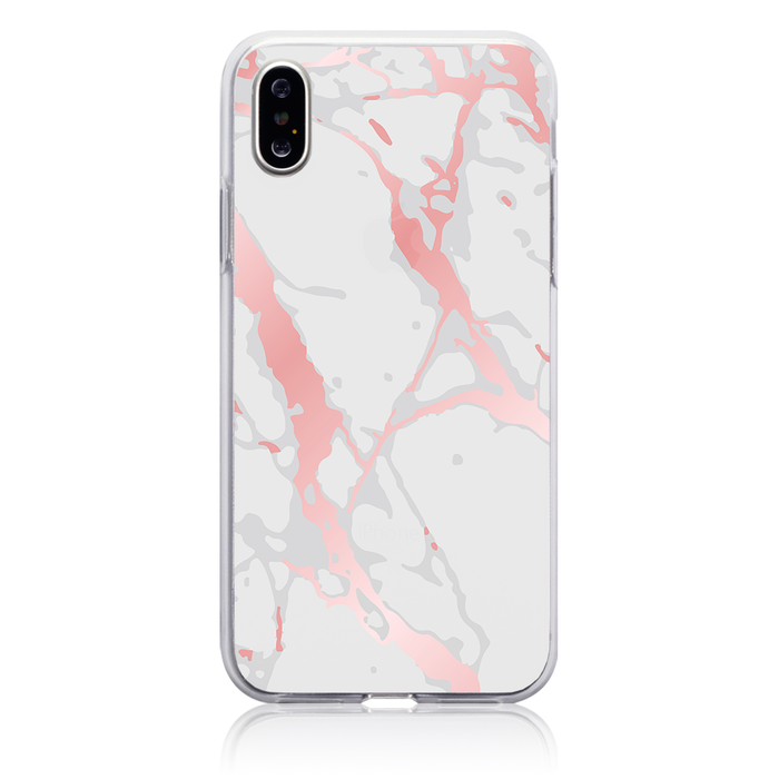 Marble Floss Phone Case - Apple iPhone X / XS by Case Hut DesignLab