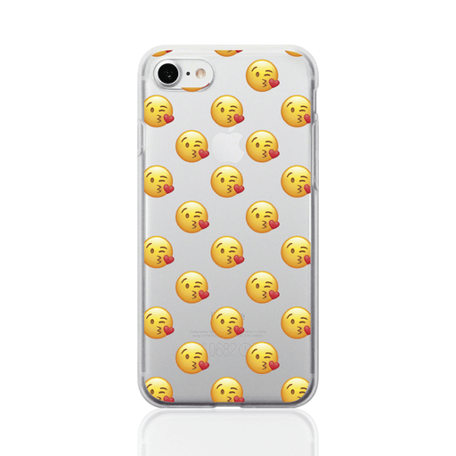 Call Candy Cases Emoji Kissing Wink Case for Apple iPhone 8/7 by Call Candy