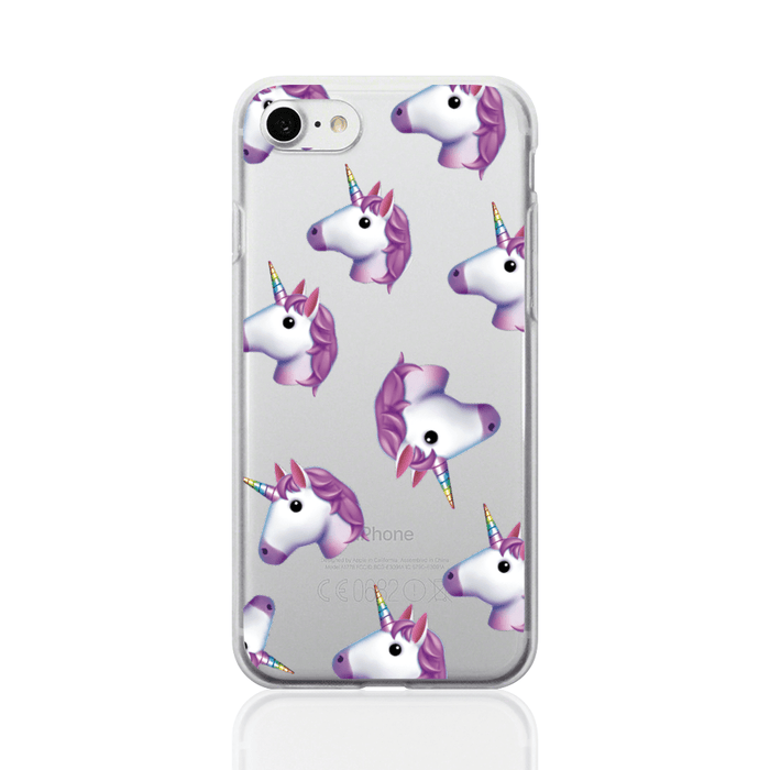 Call Candy Cases Emoji Unicorn Case for Apple iPhone 8/7 by Call Candy