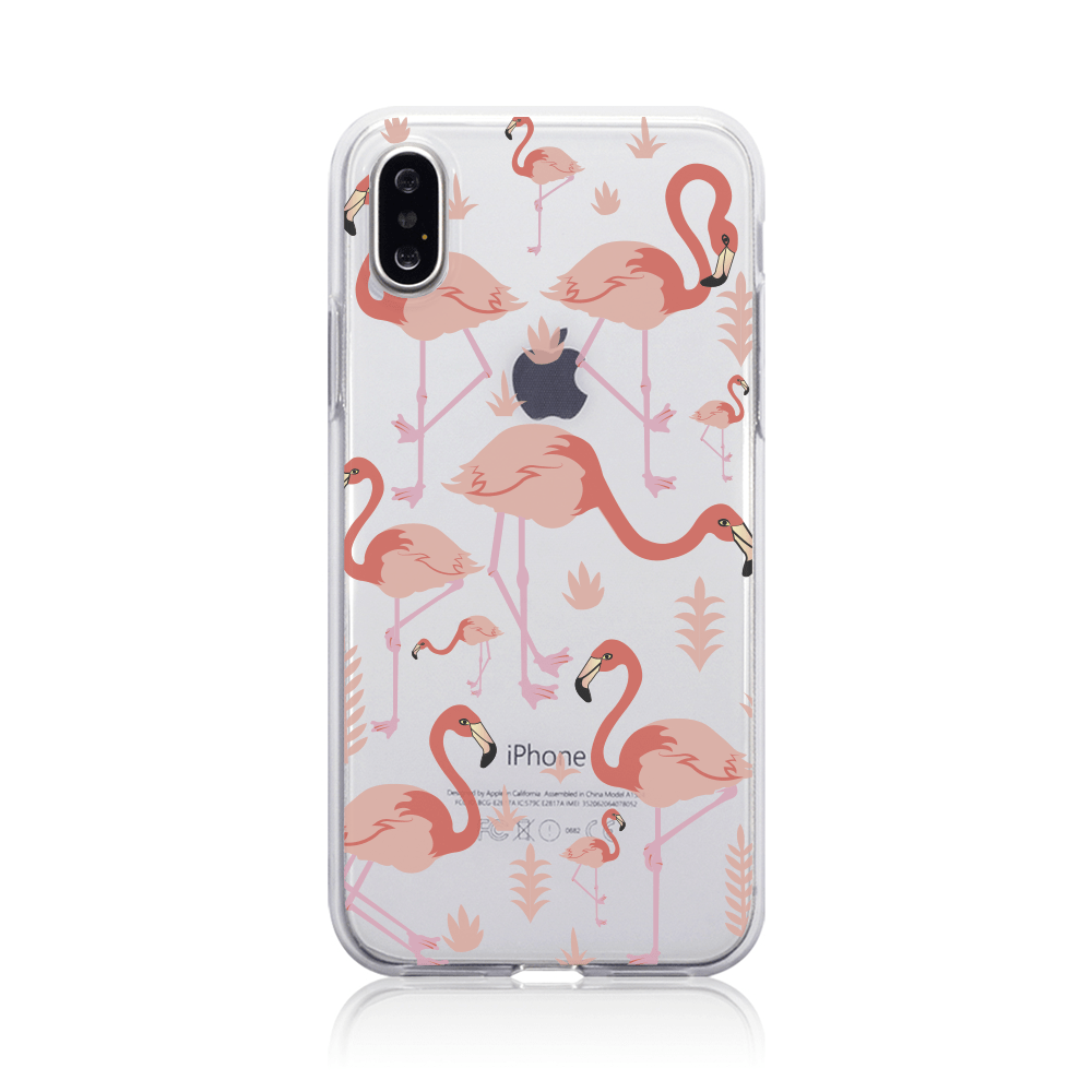 Call Candy Cases Flamingo Flamenco Case for Apple iPhone X/XS by Call Candy