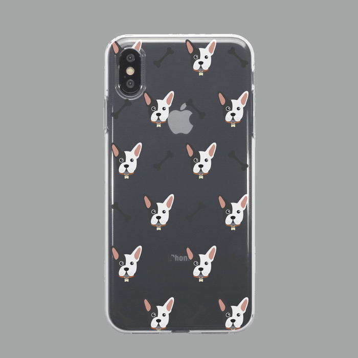Call Candy Cases Frenchie Gel Case for Apple iPhone XS Max by Call Candy