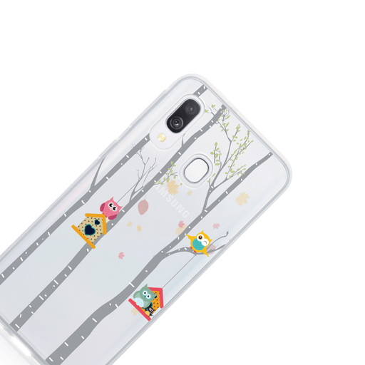 Call Candy Cases Love owls Case for Samsung Galaxy A30 by Call Candy