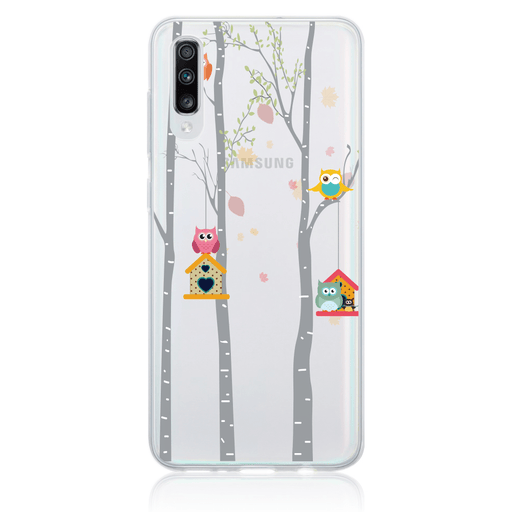 Call Candy Cases Love owls Case for Samsung Galaxy A70 by Call Candy