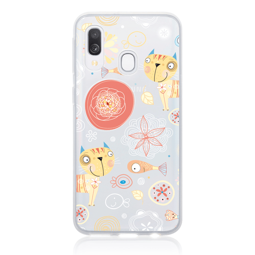 Call Candy Cases Pierre the Cat Case for Samsung Galaxy A30 by Call Candy