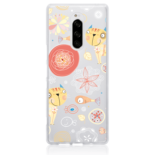 Call Candy Cases Pierre the Cat Case for Sony Xperia 1 by Call Candy