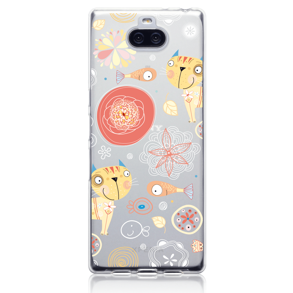 Call Candy Cases Pierre the Cat Case for Sony Xperia 10 Plus by Call Candy
