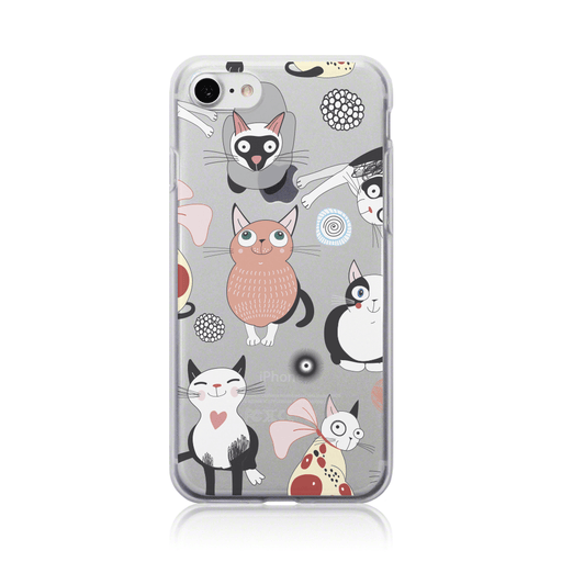 Call Candy Cases Sassy Cats Case for Apple iPhone 8/7 by Call Candy