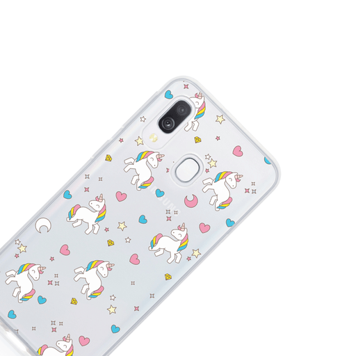 Call Candy Cases Unicorns Case for Samsung Galaxy A30 by Call Candy