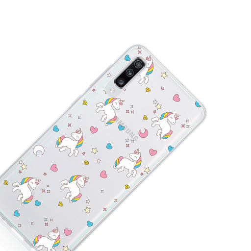 Call Candy Cases Unicorns Case for Samsung Galaxy A70 by Call Candy