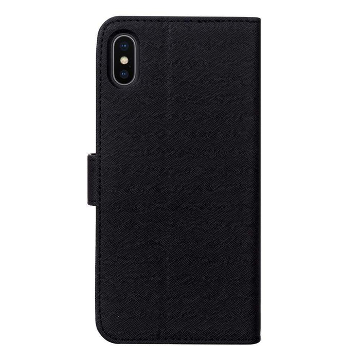 Case FortyFour Cases Case FortyFour No.11 iPhone XS/X Cross Grain Black
