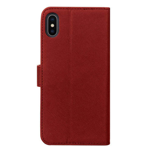 Case FortyFour Cases Case FortyFour No.11 iPhone XS/X Cross Grain Red